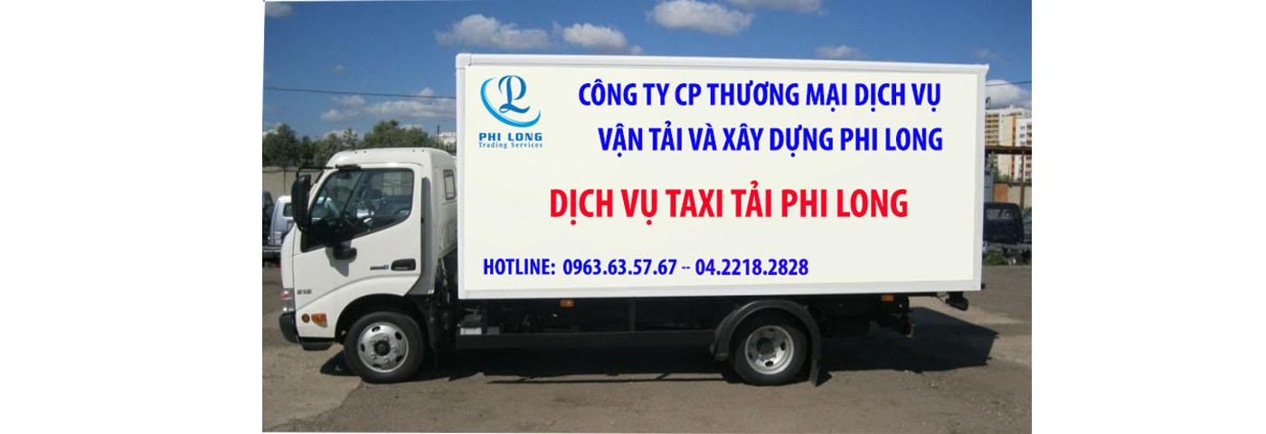 Dịch vụ thuê xe taxi tải giá rẻ Hà Nội
