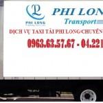 Cho thuê xe tải uy tín tại phố Cự Lộc
