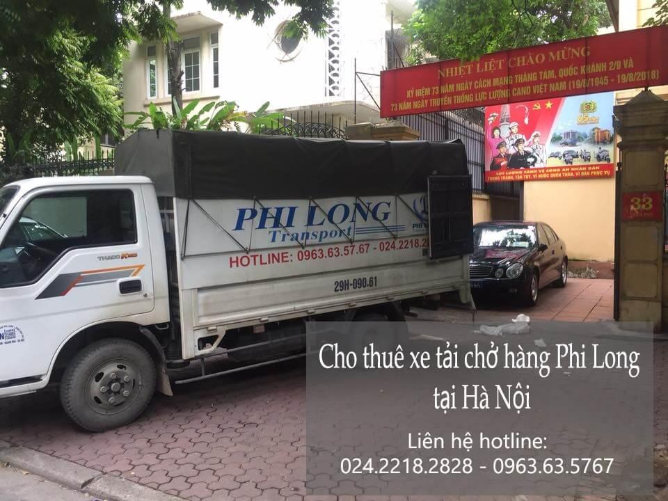 Dịch vụ cho thuê xe tải tại phố Đông Thái