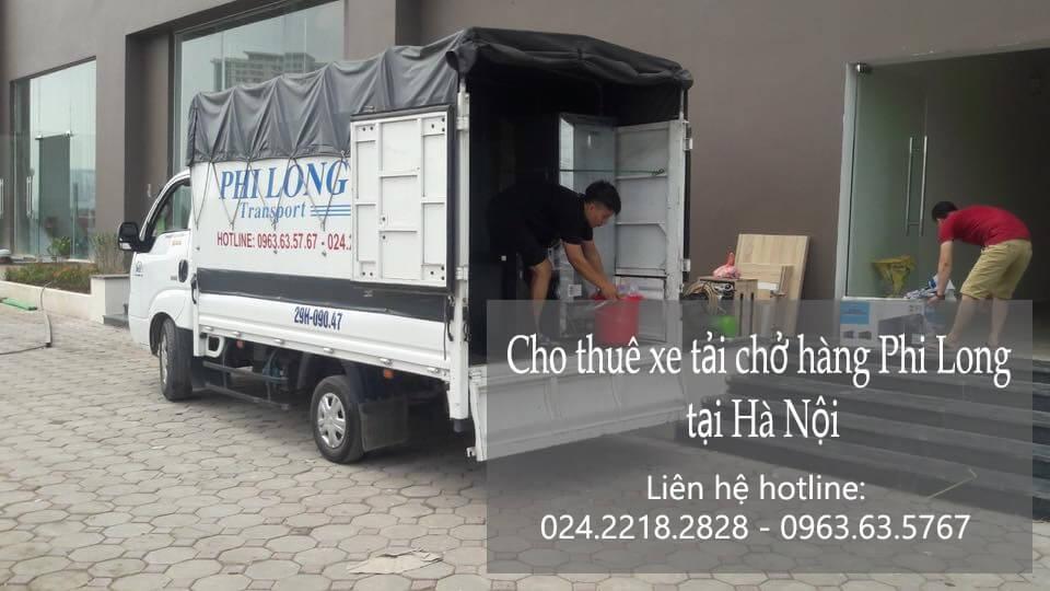 Cho thuê xe tải tại phố Chân Cầm