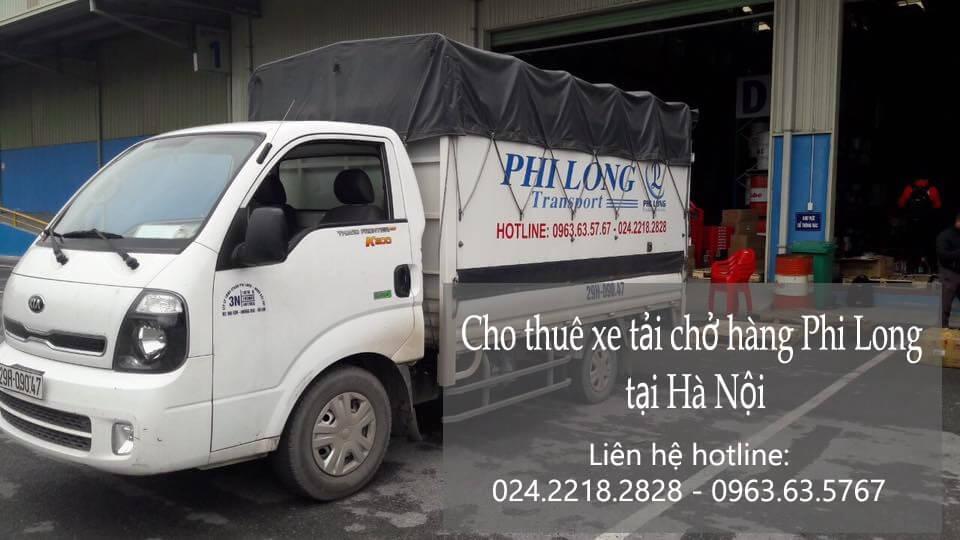 Dịch vụ cho thuê xe tải tại phố Cầu Mây