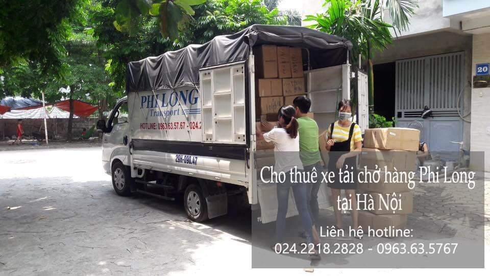 Dịch vụ cho thuê xe tải tại phố Đông Các