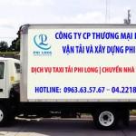 Taxi tải chuyển nhà giá rẻ Phi Long