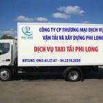 Dịch vụ cho thuê xe tải 1,4 tấn Phi Long