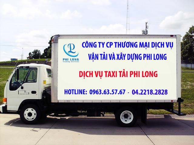 Dịch vụ taxi tải chuyên nghiệp Phi Long