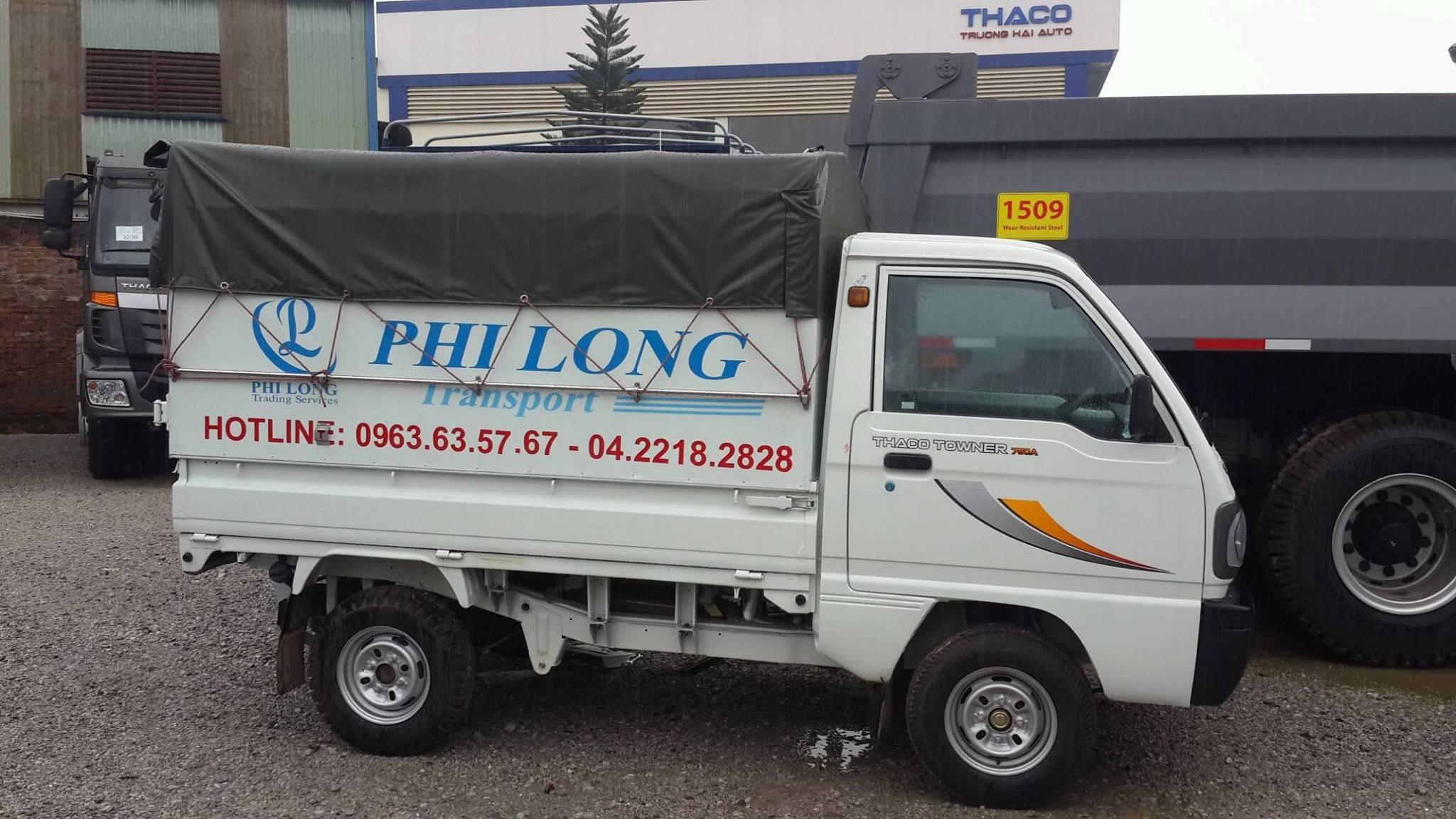 Dịch vụ cho thuê xe tải tại phố Ngọc Thuỵ
