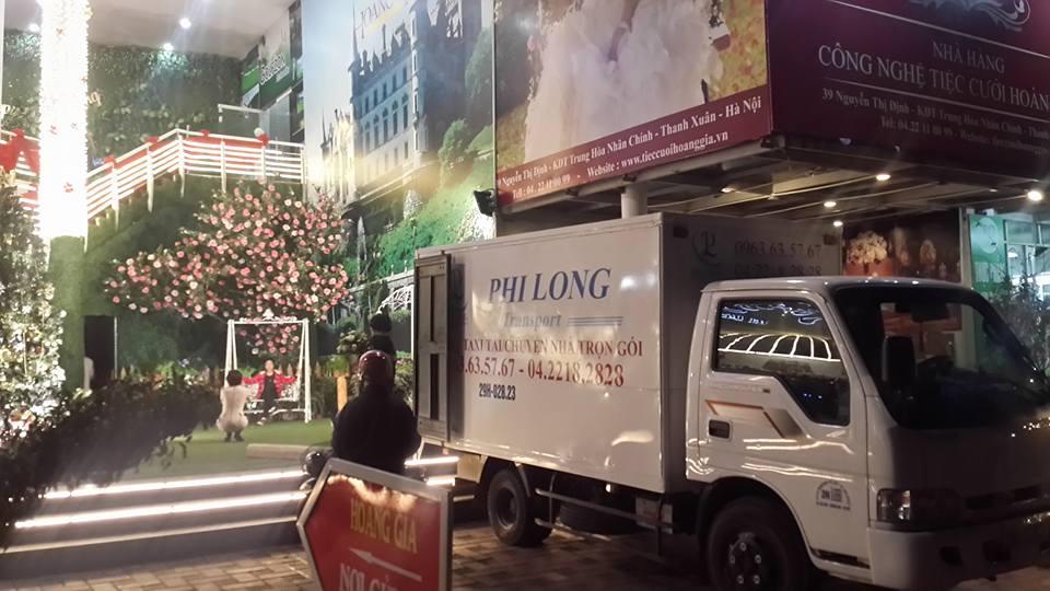 Cho thuê xe tải uy tín tại phố Hồ Xuân Hương