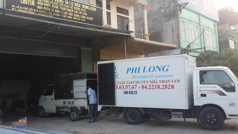 Cho thuê xe tải giá rẻ tại phố Hàn Thuyên