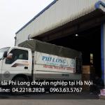 Cho thuê xe tải chuyển nhà tại đường Vạn Phúc