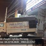 Phi Long dịch vụ cho thuê xe tải chở hàng tại phố Tây Sơn