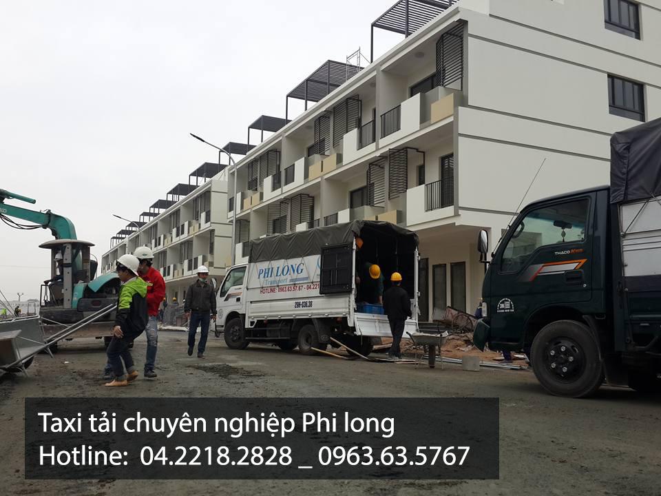 Cho thuê xe tải chuyên nghiệp tại đường Vạn Phúc