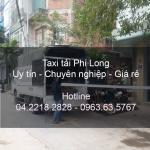 Cho thuê xe tải chuyên nghiệp tại phố Đồng Nhân
