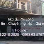 Dịch vụ taxi tải chuyên nghiệp tại phố Đỗ Ngọc Du