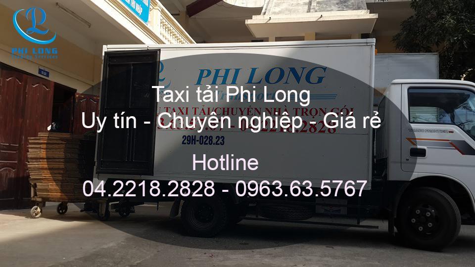 Dịch vụ taxi tải chuyên nghiệp tại phố Đoàn Trần Nghiệp
