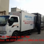 Cho thuê xe tải uy tín tại phố Bà Triệu