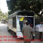 Dịch vụ cho thuê xe tải tại phố Trúc Bạch