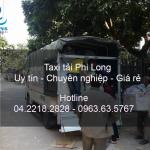 Cho thuê xe tải chuyên nghiệp tại phố Đống Mác