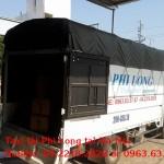 Cho thuê xe tải chuyên nghiệp tại phố Vương Thừa Vũ