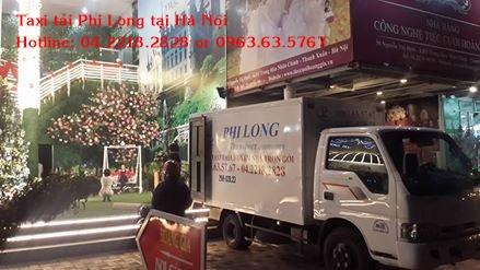 Dịch vụ taxi tải giá rẻ tại phố Bùi Ngọc Dương