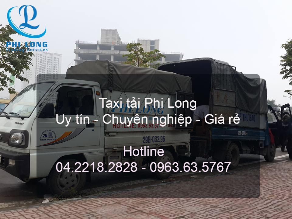 Dịch vụ taxi tải chuyên nghiệp tại phố Đỗ Hành