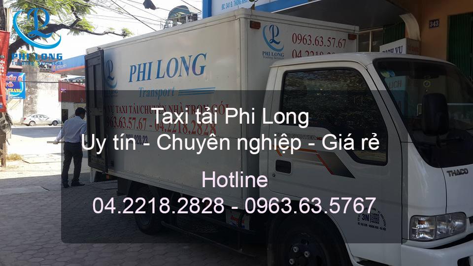Dịch vụ taxi tải chuyên nghiệp tại phố Đại La