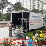 Cho thuê xe tải giá rẻ tại phố Vọng