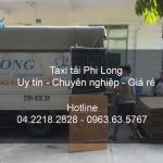 Dịch vụ taxi tải uy tín tại phố Chùa Vua