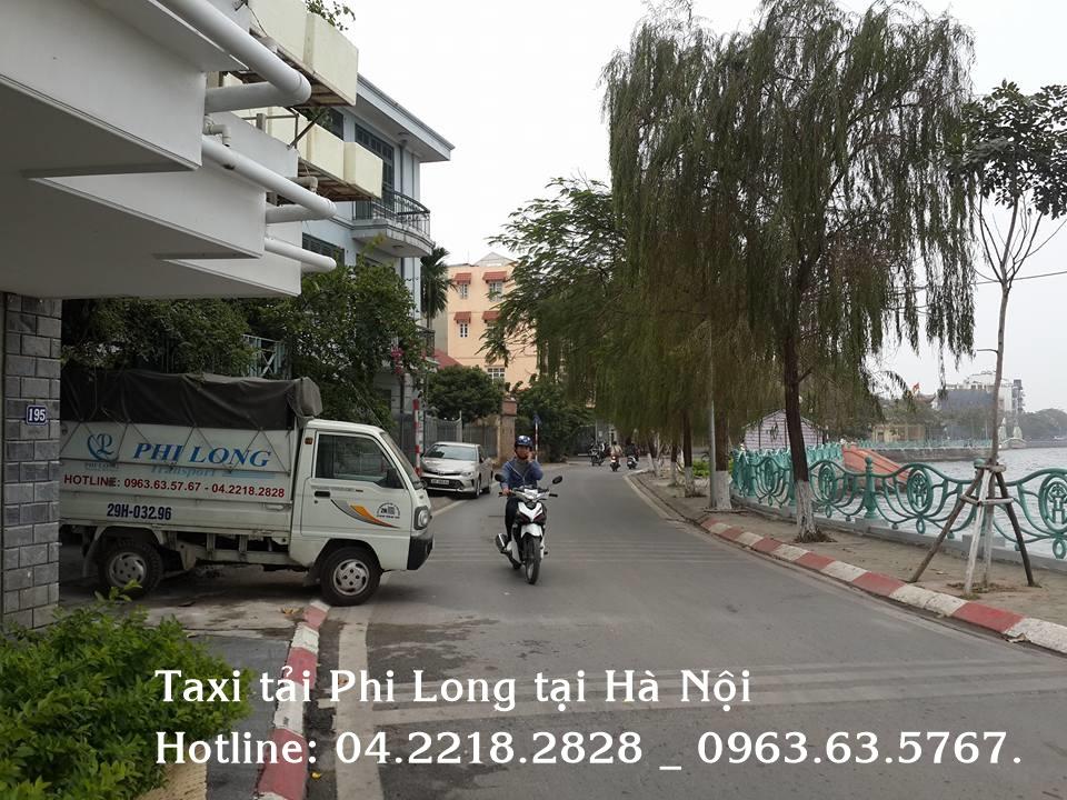 Cho thuê xe tải giá rẻ Phi Long tại phố Thái Hà