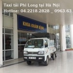 Cho thuê xe tải tại phố Thái Hà