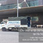 Cho thuê xe tải phố Đội Nhân