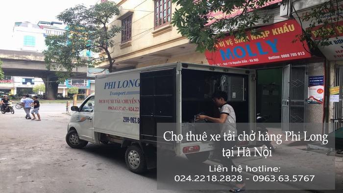 Cho thuê xe tải tại phố Chợ Gạo