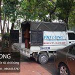 Taxi tải chuyển nhà Phi Long tại phố Pháo Đài Láng