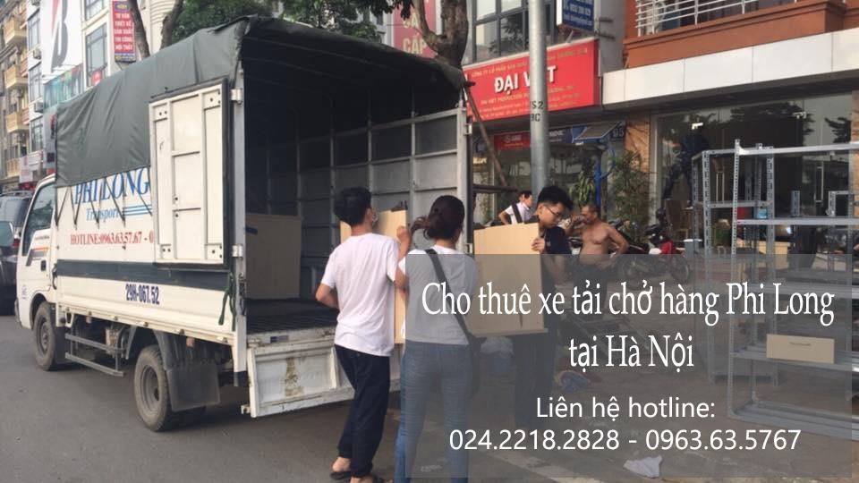 Cho thuê xe tải nhỏ tại phố Yên Bình