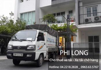 Cho thuê xe tải tại phố Thành Công