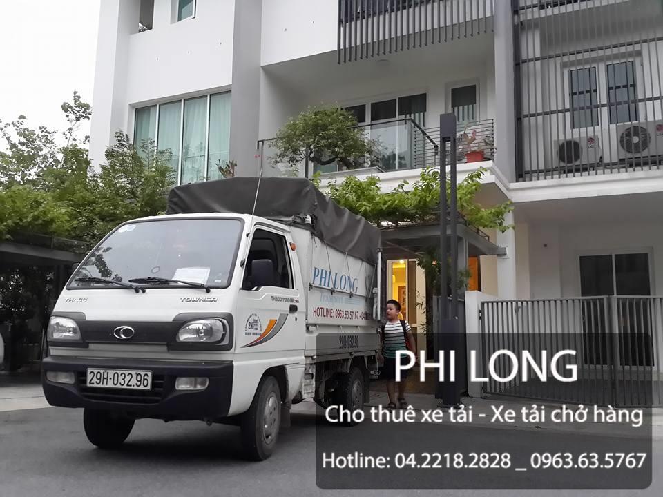 Dịch vụ cho thuê xe tải của hãng Phi Long tại phố Thành Công
