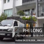Dịch vụ cho thuê xe tải giá rẻ để chuyển nhà
