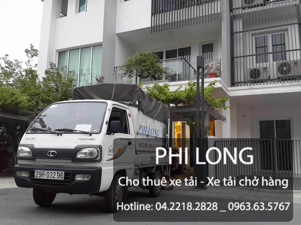 Cho thuê xe tải chở hàng giá rẻ tại phố Nguyễn Lương Bằng