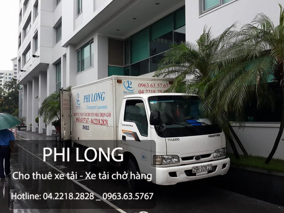 Dịch vụ cho thuê xe tải chở hàng giá rẻ tại Phố Ngọc Khánh
