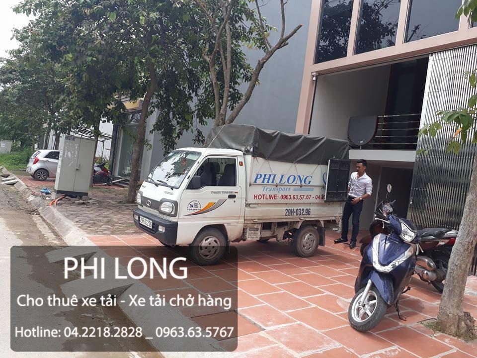 Taxi tải Phi Long hãng cho thuê xe tải chở hàng giá rẻ tại Phố Ngọc Khánh