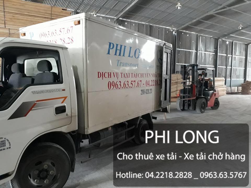 Cho thuê xe tải giá rẻ tại phố Huỳnh Thúc Kháng