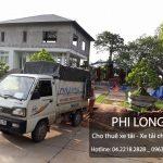 Cho thuê xe tải tại phố Chùa Bộc