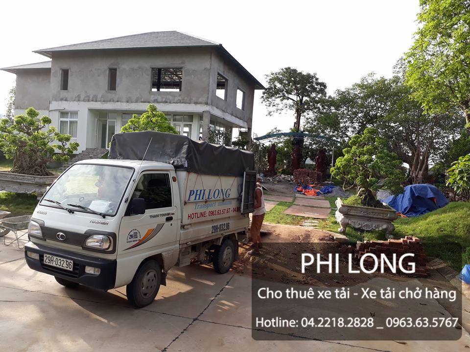 Công ty Phi Long cho thuê xe tải giá rẻ tại phố Chùa Bộc