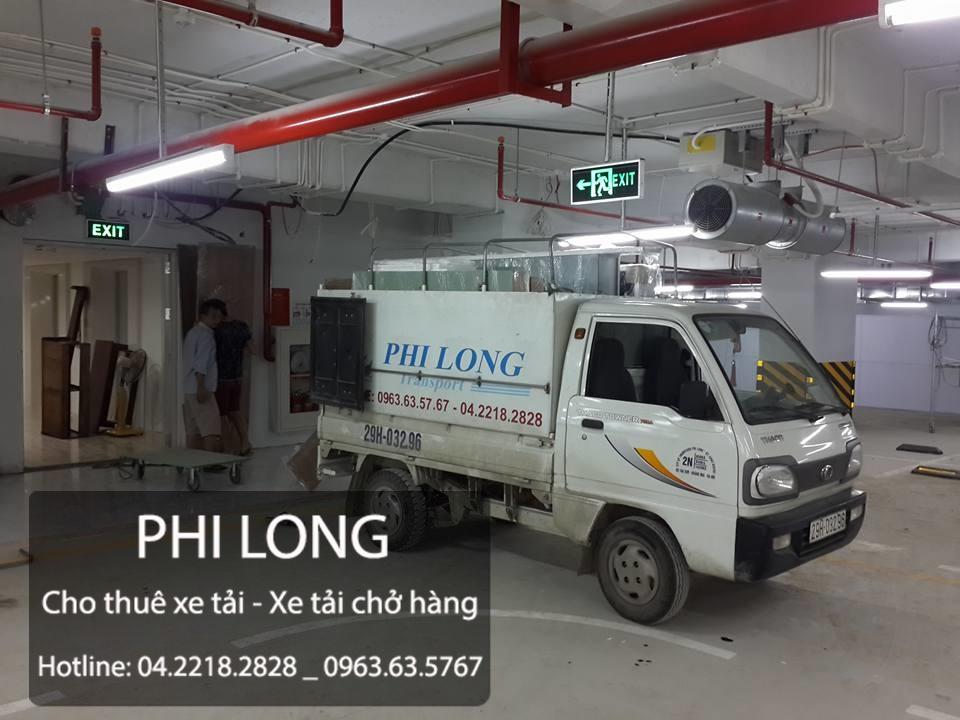 Taxi tải Phi Long hãng cho thuê xe tải chuyển nhà chuyên nghiệp tại phố Chùa Bộc