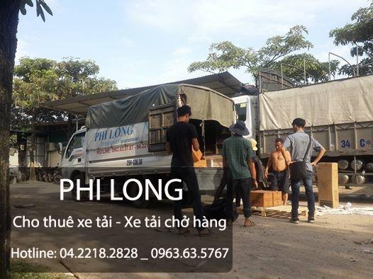 Phi Long cung cấp cho thuê xe tải chuyển nhà giá rẻ tại phố Nguyễn Lương Bằng