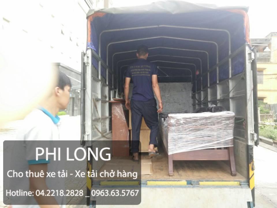 Công ty Phi Long chuyên cung cấp cho thuê xe tải chở hàng giá rẻ tại phố Bích Câu