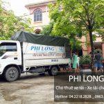 Dịch vụ cho thuê xe tải tại phố Cát Linh