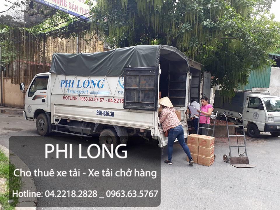Taxi tải Phi Long cho thuê xe tải chở hàng tại phố Ngô Sỹ Liên