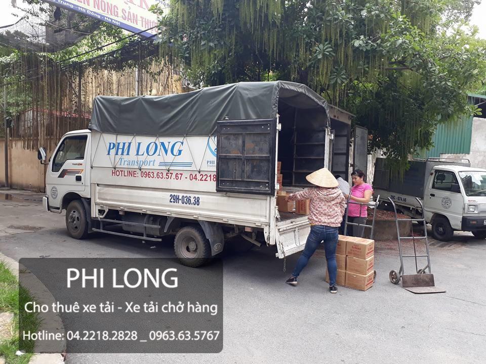 Phi Long cho thuê xe tải giá rẻ tại phố Cát Linh