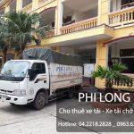 Cho thuê xe tải giá rẻ tại phố Hoàng Cầu