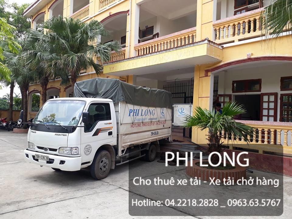 Taxi tải Phi Long hãng cho thuê xe tải chở hàng chuyên nghiệp tại phố Hoàng Cầu